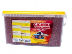 Cichlid Carnivore Small Pellet  5l / 1,8kg