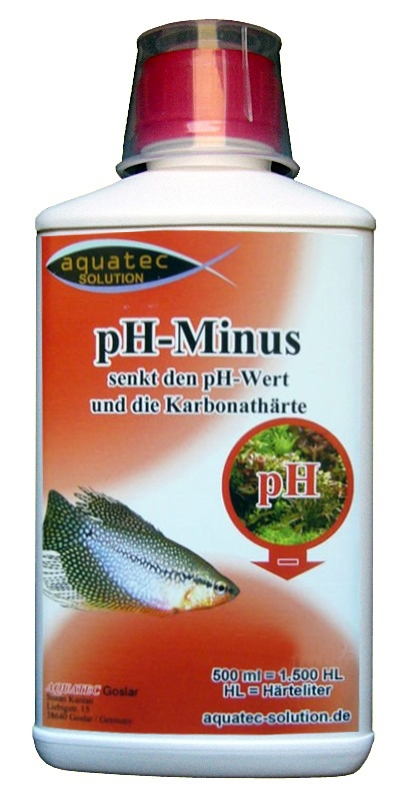 AQUATEC Solution pH-Minus 1000ml