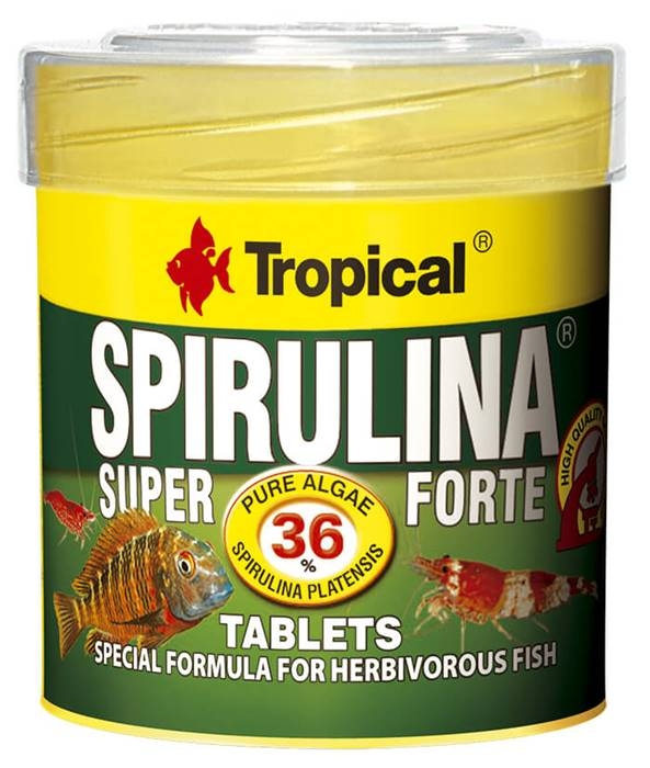 Super Spirulina Forte Tablets   50ml / 36g ca. 80pcs
