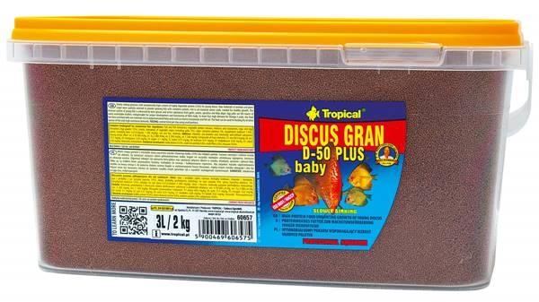 Discus Gran D-50 Plus Baby  3L / 1,56kg
