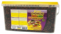 Cichlid Red&Green  10l / 3,6kg Medium Sticks