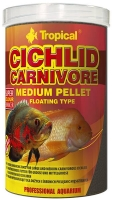 Cichlid Carnivore Medium Pellet  1000ml / 360g