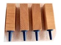 Lindenholz Ausströmer 15x15x45mm 4 Stck