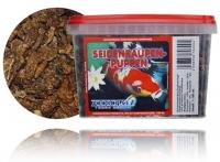 Seidenraupen Puppen Koifutter Schildkröten Reptilienfutter 1100ml