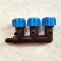 Absperrhahn  Drei Wege  Luftverteiler , Lufthahn aus Kunststoff