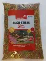 Colormenü, 7 L Teichsticks , Alleinfutter für Koi und Teichfische