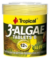 3-Algae Tablets B  50ml / 36g ca. 200pcs