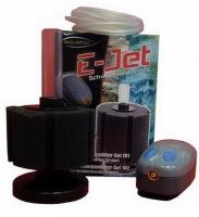 Schwammfilter Set E Jet 102 inkl Membranpumpe bis 80 L