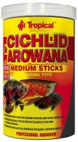 Cichlid&Arowana Medium Sticks  250ml / 90g