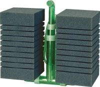 Schwammfilter  Filter Delfin Doubble luftbetriebener Innenfilter bis 300 L